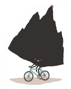 Mountain Biking? - not exactly our idea of MTB! lol-OP  riding around the mountain doesn't count!