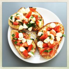 caprese bruschetta, caprese salad recipe, bruschetta toppings, easy family food from daisies and pie