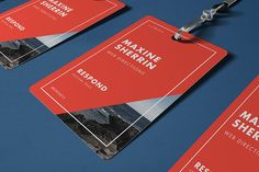 Web Directions Respond 2014 by Studio Tall, via Behance