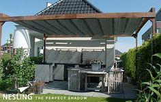 Slunečníky a stínící technika - Etan. Valance Curtains, Techno, Sailing, Pergola, Garden, Outdoor Decor, House, Home Decor, Sleep