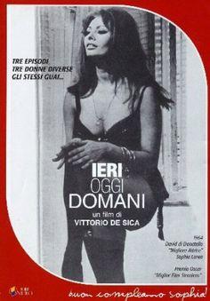 """Ieri, Oggi E Domani [dvd ed. General Video/cineteca Repubblica L'Espresso """"cinema italiano"""" n°2] - Marcello Mastroianni, Sophia Loren, Tina Pica, Aldo Giuffre', Vittorio De Sica."""