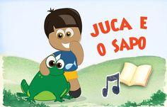 Juca e o Sapo - Historinha e Clipe Musical Infantil - NOVAS ANIMAÇÕES