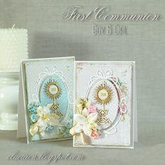 First Communion Cards *DT Lemoncraft* - Scrapbook.com