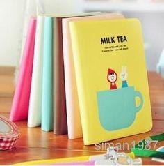 Wholesale Notebook - Buy - / Korean Stationery/ Milk Tea Notebook/ Paper Notepad, $0.51 | DHgate