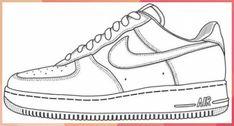Shoe art, nike shoes, sneakers nike, air force one shoes, nike air Nike Air Force Ones, Air Force One Shoes, Nike Air Force 1 Outfit, Logo Nike, Shoe Template, Sneaker Art, Nike Af1, Baskets, Shoe Clips