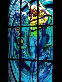Before its time - Stanisław Wyspiański, Apollo: The Copernican Solar System, 1905, the Medical Society House, Krakow.