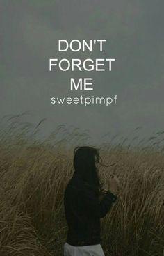 Don't forget me! ( BTS ff) von Sweetpimpf