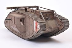 Tamiya British Mark IV Male Tank by Brett Green