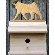 Dog Breed Bird House by Michael Park