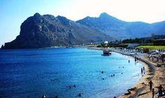 Kiotari Beach in Rhodes, Greece