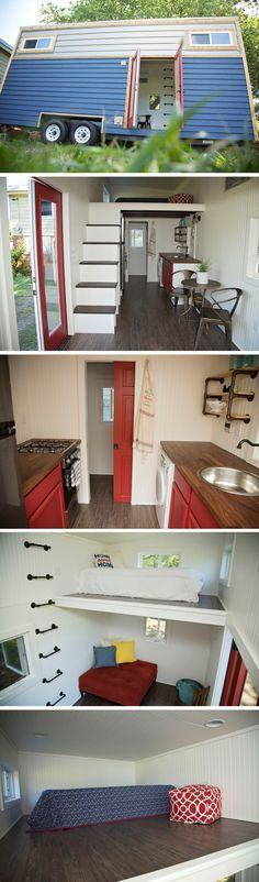 The American Pie tiny house from Perch and Nest
