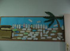 Message in a Bottle Classroom Display Photo - SparkleBox