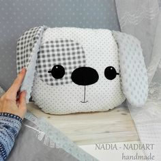 Big pillow dog, kawaii style animals, Cushion shaped like a dog, dog cushion, pi… – embroidered baby pillow Boho Throw Pillows, Big Pillows, Cushions To Make, Throw Pillow Cases, Sewing Toys, Baby Sewing, Diy Cushion, Cushion Pillow, Bolster Pillow