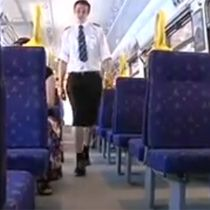 Male Train Drivers Protest Shorts Ban—With Skirts