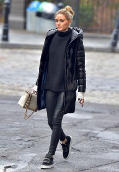 2aa120974cfc Olivia Palermo is seen in Brooklyn on January 12 2017 in New York City