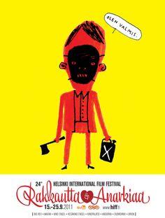 24th Helsinki International Film Festival - Raskautta & Anarkiaa | www.hiff.fi