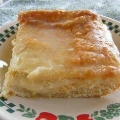 Cream cheese flaky pastry
