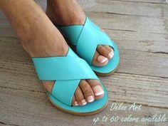 Sandales grecques, jusqu'à 60 couleurs disponibles, fait à la main sandales, sandales en cuir, chaussures femmes, sandales en cuir, personnaliser sandales
