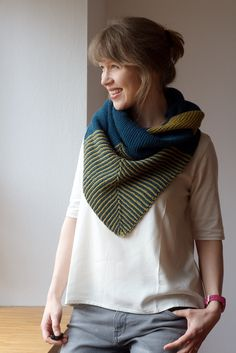 """It's a shrug – and so much more! New pattern + kit """"Shrug & More"""": http://www.strickmich-shop.de/en/detail/index/sArticle/112"""