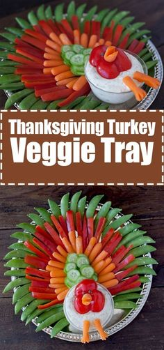 Thanksgiving turkey veggie tray: kid friendly thanksgiving appetizer   Source: www.eatingrichly.com