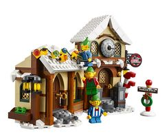 LEGO Creator Expert Santas Workshop 10245 ** To view further for this item, visit the image link. (This is an affiliate link) Buy Lego, Legos, Lego Santa's Workshop, Santas Workshop, Lego Christmas, Christmas Ideas, Christmas Train, Christmas Nativity, Xmas