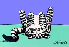 kliban cats | cat-Kliban card