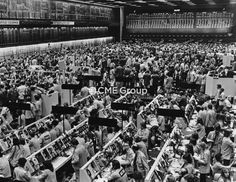 Historical photo- Trading Floor