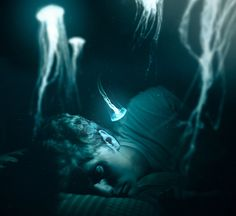Dream Manipulation/Oneirokinesis/ Dreamscaping: The power to enter and manipulate the dreams of oneself and others.  A sub-power of Sleep Manipulation.  (Conceptual Photography from Stephen Criscolo: This one is titled, Depths)