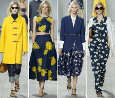 New York Fashion Week trends spring 2015 #NYFW #Spring2015