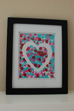 Valentines: Kid's Valentine's Day Art Projects {Pinkie for Pink}
