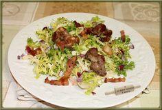 LA TABLE LORRAINE D'AMELIE: Salade de frisée aux gésiers, lardons & croutons frits
