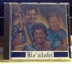 Extremely RARE Ke 'alohi Hawaiian Music CD Collectible CD Hoku Award Winner 1992 #HawaiiPacificIslands