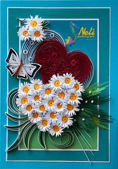Neli Quilling Art: Preparation for Valentine's Day – 1