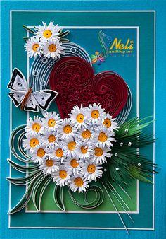Neli Quilling Art: Preparation for Valentine's Day – 1