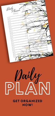 There's nothing better than a daily plan to get organized and get stuff done. And this printable day planner helps me every time. It's so easy to just fill out my schedule and add my notes and goals for the day. There's lots of room for me to log my errants and tasks! Planner Tips, Happy Planner, Journal Prompts For Teens, Journal Ideas, Printable Day Planner, Types Of Journals, Cool Notebooks, Day Planners, Planner Organization