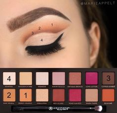 Makeup Ideas 2017/ 2018 Anastasia Beverly Hills modern Raisenance
