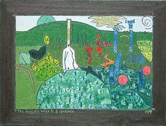 Gerald Shepherd: The Artist's Wife In A Garden 1