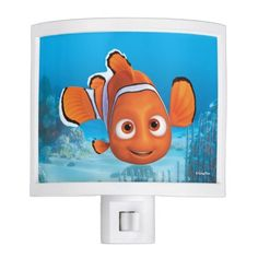 Finding Dory Nemo. Regalos, Gifts. Producto disponible en tienda Zazzle. Product available in Zazzle store. Link to product: http://www.zazzle.com/finding_dory_nemo_night_light-256511347164511063?CMPN=shareicon&lang=en&social=true&rf=238167879144476949 #lámpara #lamps