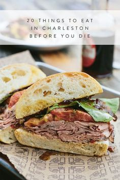 20 Things to Eat in Charleston Before You Die via I think we missed a few. Time to go back Foodie, Restaurants, Where to Eat, What to Eat Best Charleston Restaurants, Charleston Food, Charleston South Carolina, Chicago Restaurants, Charleston Sc Things To Do, North Carolina, Charleston Style, Places To Eat, Places To Travel