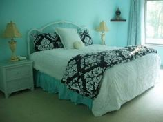 http://toemoss.com/image/10426-tiffany-blue-bedroom-ideas-with-regular Tiffany-Blue-Bedroom-Ideas-with-Regular
