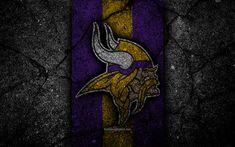 American Football, Football Usa, Asphalt Texture, Minnesota Vikings Logo, Nfl, Sports Wallpapers, Desktop Pictures, Designer Wallpaper, Division