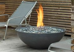 Miso is a peaceful firebowl with wide, shallow dimensions. A classic centrepiece to outdoor rooms and patios of any style, its low stature is reminiscent of a campfire, making it the perfect accompaniment to warm conversations and evening entertaining. Its cast concrete vessel is attractive and functional: weather-resistant, substantial with clean, crisp lines that convey an air of sophistication.