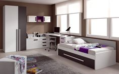 Great Teenage Rooms Concepts - http://www.decorationarch.com/other-ideas/great-teenage-rooms-concepts.html