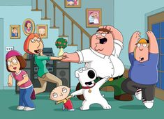 Family Guy TV Show on FOX: Canceled or Season (Release Date) - canceled + renewed TV shows - TV Series Finale Family Guy Tv Show, Family Guy Cartoon, Family Guy Episodes, Family Guy Season, Full Episodes, Meg Griffin, Griffin Family, Stewie Griffin, Peter Griffin