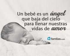 Un bebé es un ángel de amor