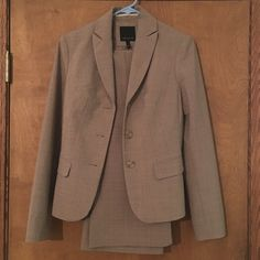 The Limited Pants Suit Excellent condition, brown/tan size 2 pants and blazer The Limited Jackets & Coats Blazers