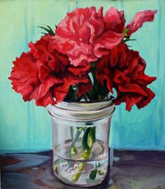 161207 flower in a bluewillow pitcherg 930930 art flowers i love this painting of flowers in a mason jar flowers mightylinksfo