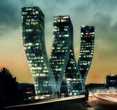 Future building in Chech republic