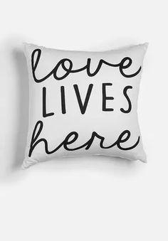 Love Lives Here Cushion