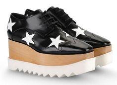 5ba93632dd0 Black Elyse Shoes with White Stars Vegan Shoes